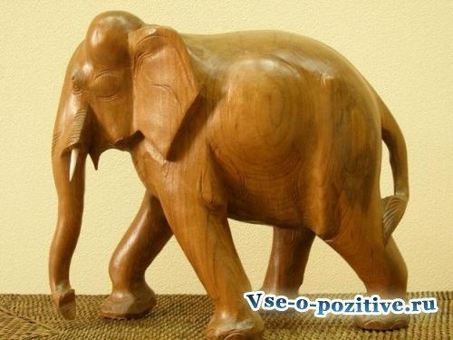 Слон по фен шуй