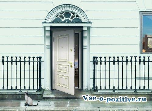 Входная дверь по фен шуй