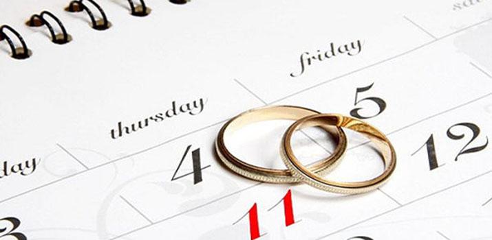 Самые благоприятные дни для свадьбы в 2017 году