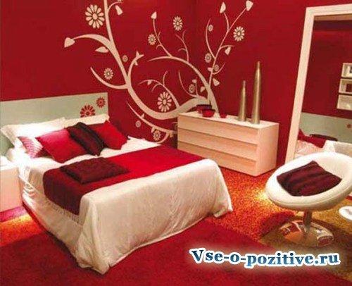 Выбираем цвет спальни по фен шуй