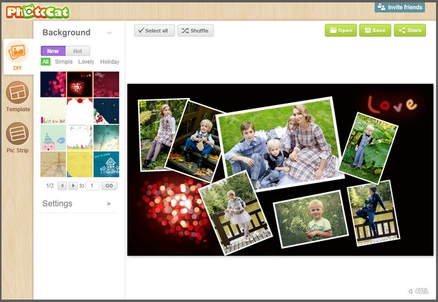 Коллаж из фотографий бесплатно онлайн